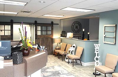 Chiropractic Durham NC Reception Area