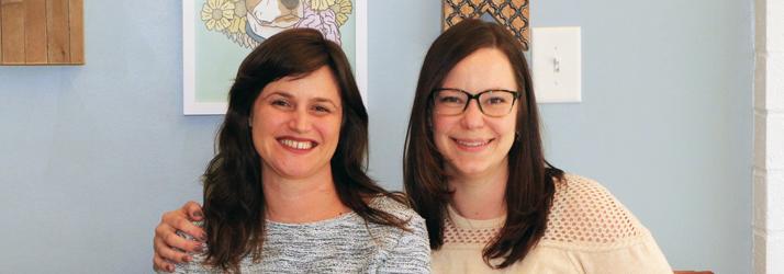 Chiropractor Danielle Fratellone with Tara